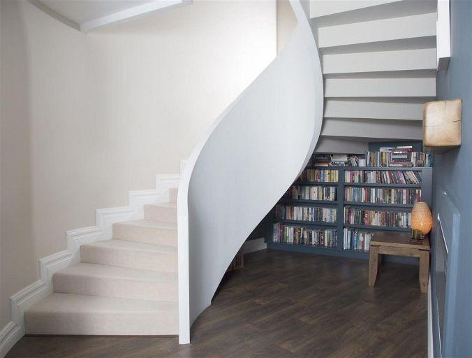 Бетонные перила и лестницы